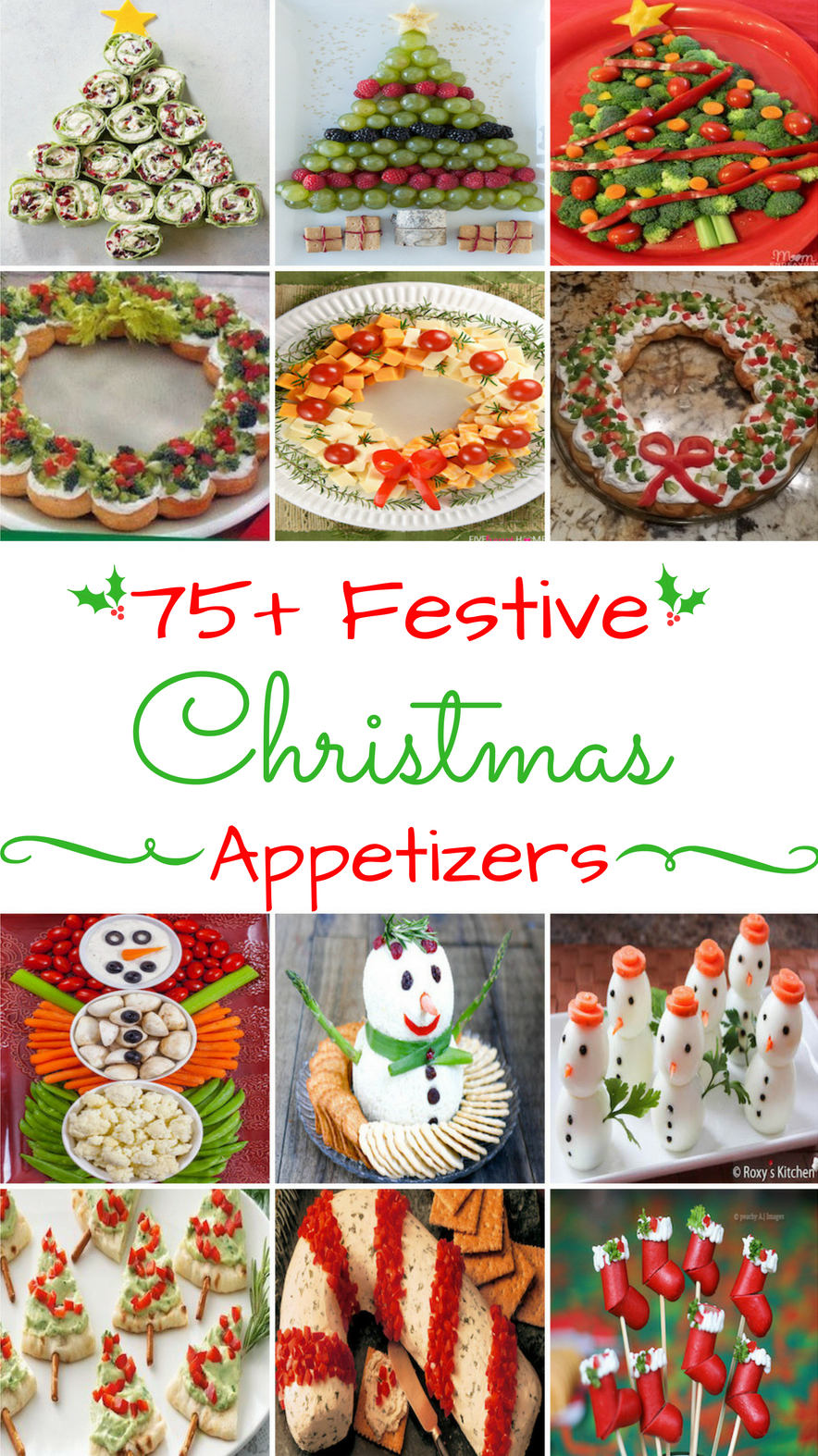 120 Festive Christmas Appetizers Christmas Appetizers Christmas Snacks Christmas Party Food