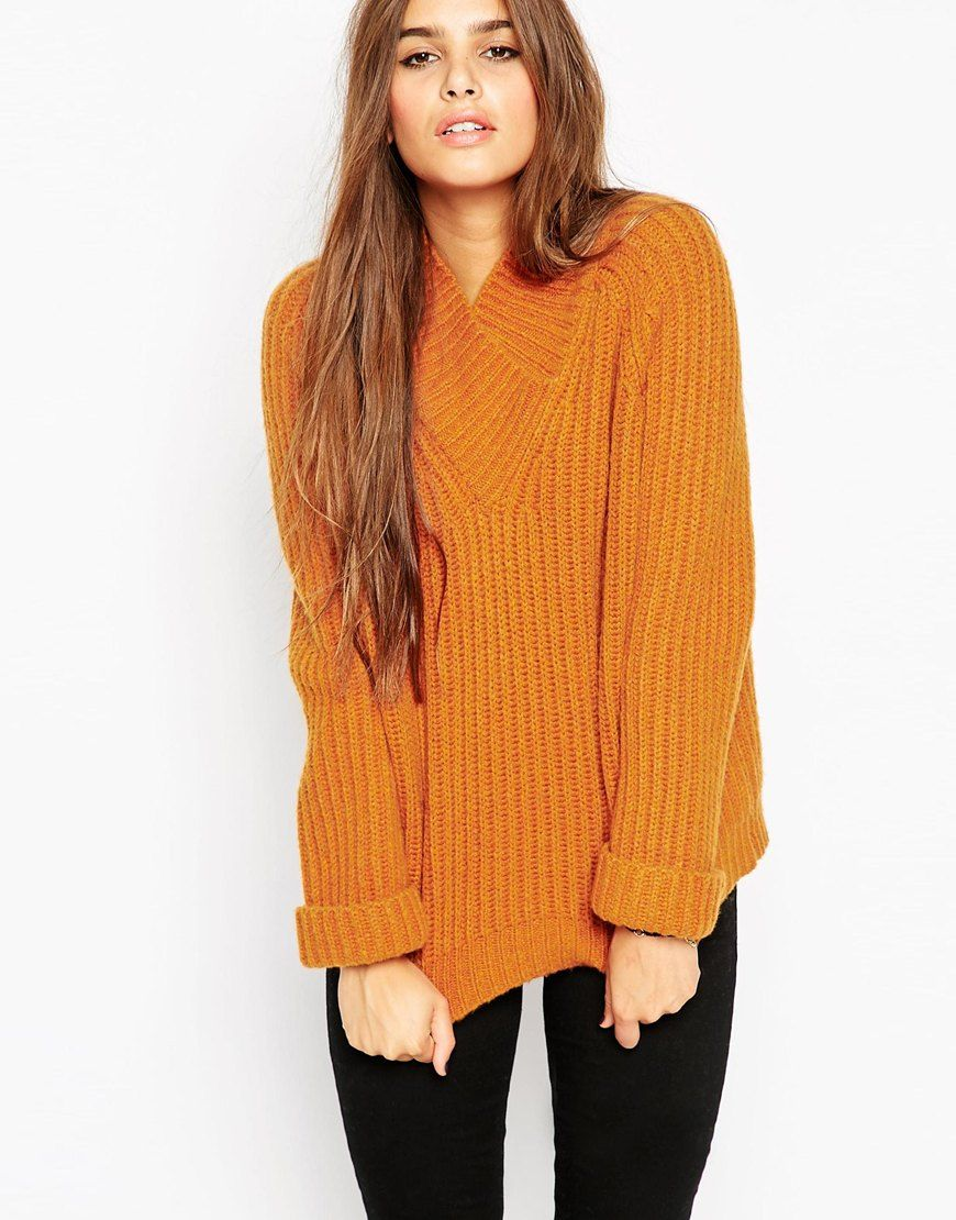Cute chunky knitwear doesn't get any better than this ASOS Chunky ...