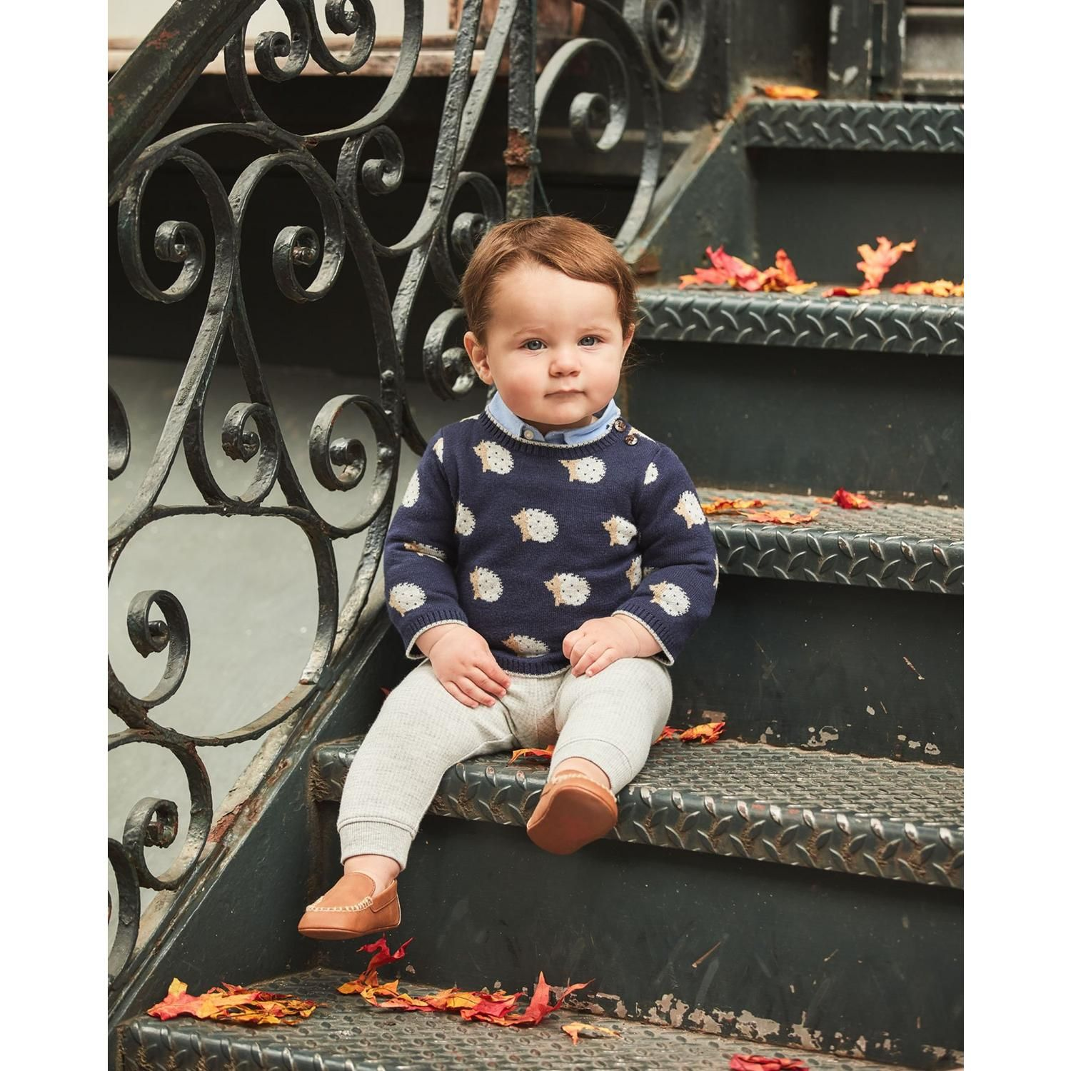 a74324dc724c Newborn Shop The Look Outfit by Janie and Jack   Mr Ethan style ...