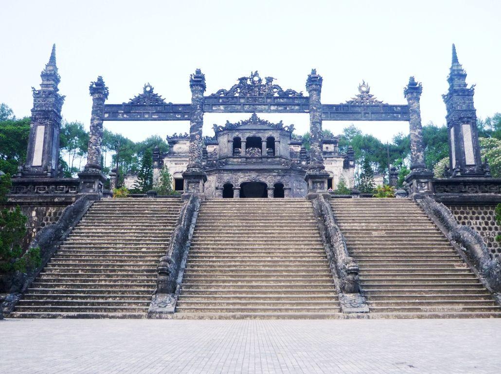 La cité impériale de Hué.