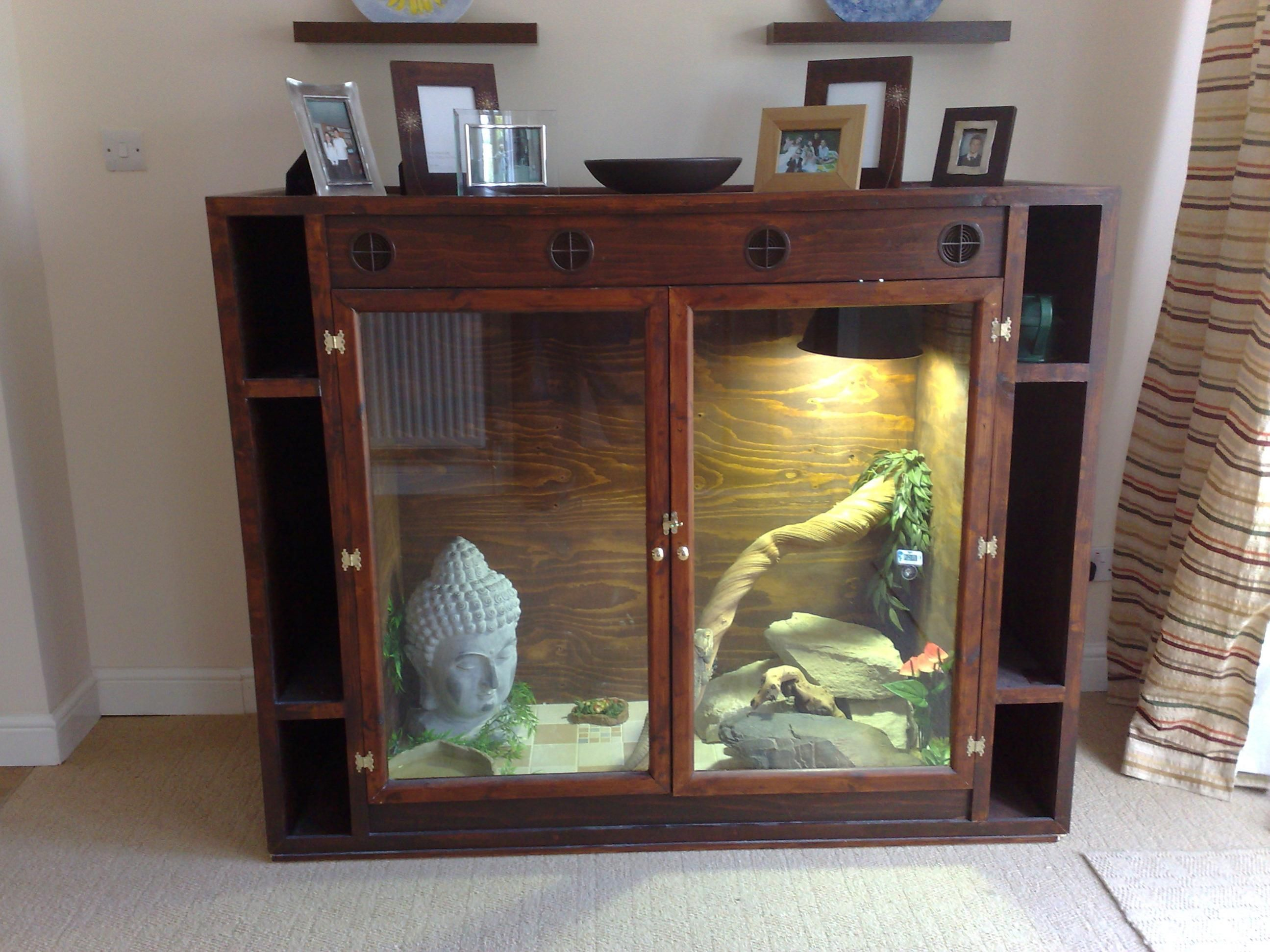 terrarium furniture. bearded dragon tank out of furniture google search terrarium