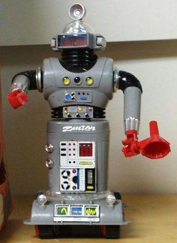 Robot Zeroid Zeroids Robot Vintage Toys Toys