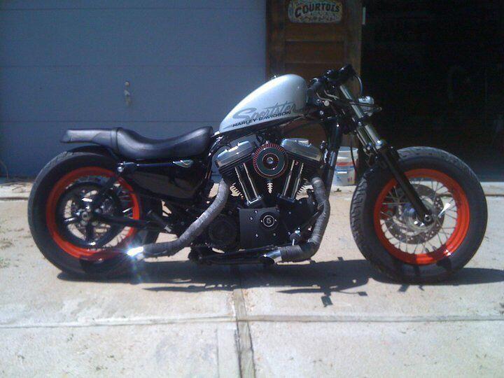 Harley Custom Rear Job Forty Eight Harley Harley 48 Custom