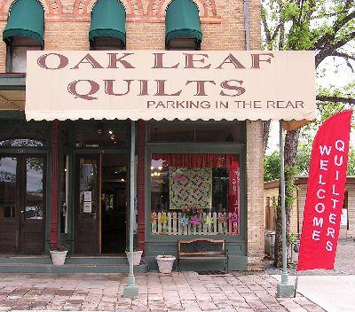 Oak Leaf Quilts Quilt Shop Oak Leaf Quilt Stores