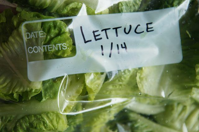 How To Freeze Lettuce Leaves Livestrong Com