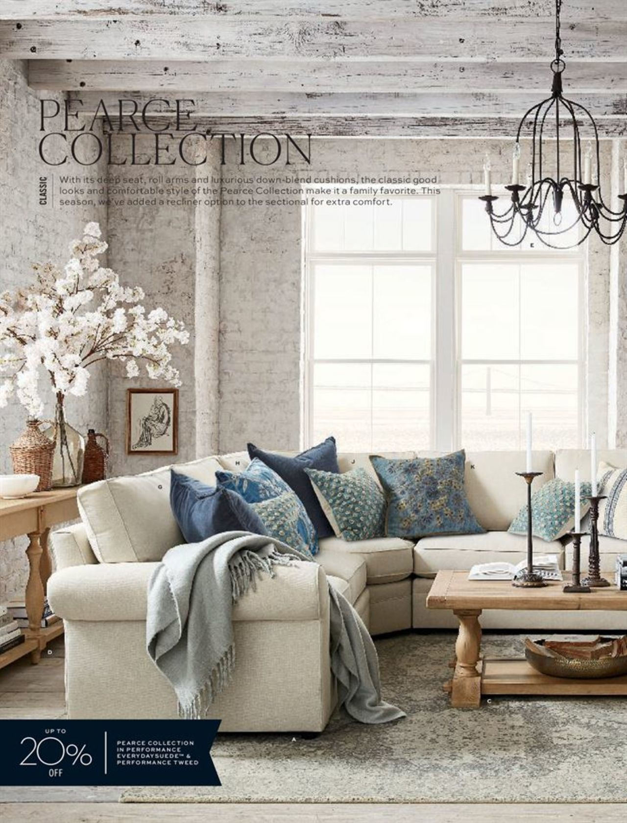 Catalogue Pottery Barn Catalogue For This Week Page 26 Valid From 27 02 2019 Page 26 Trendy Living Rooms Pottery Barn Living Room Furniture