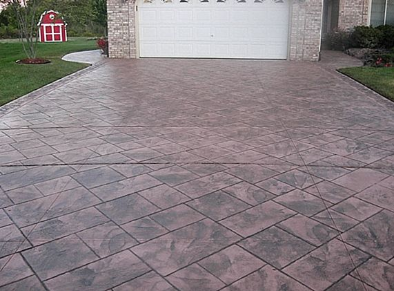 Pin By Angie Rios On Home Stamped Concrete Driveway Concrete Driveways Stamped Concrete