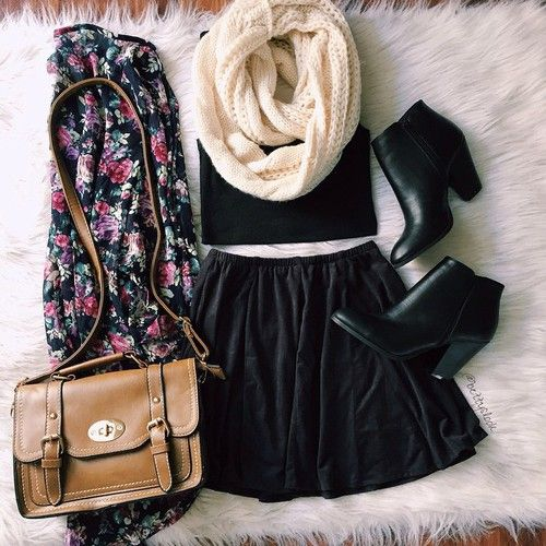 Casual Winter Outfit uploaded by Freedom† on We Heart It