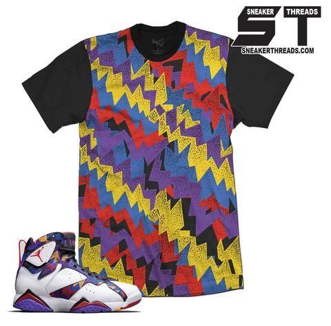 89449b9dc0454 Jordan 7 Nothing But Net Show Down Shirt Jordan Retro 7