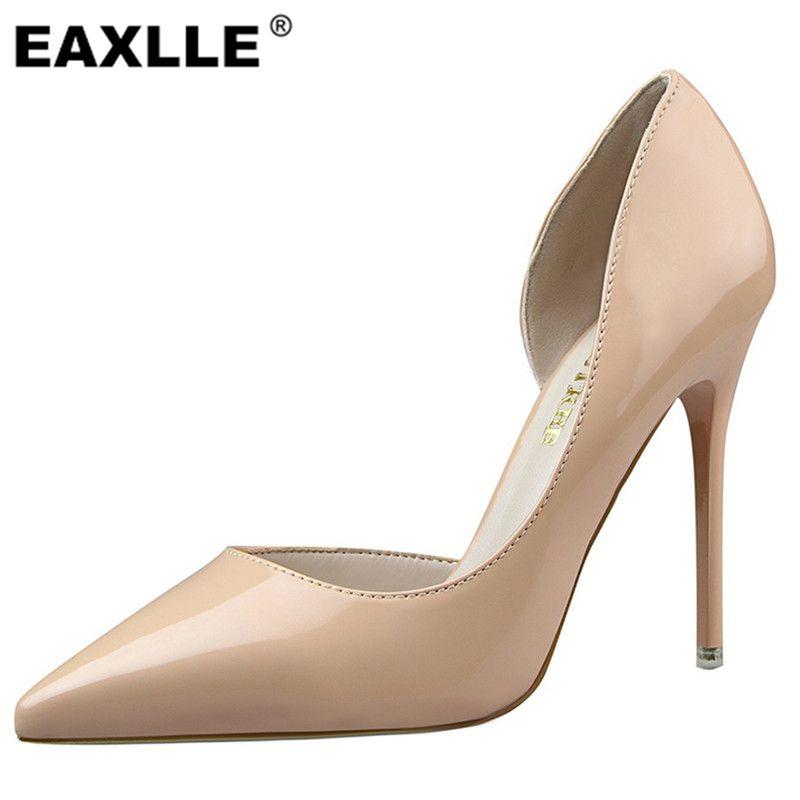 Lackleder Partei Schuhe 10 5 Cm High Heels Schuhe Frau Pumps