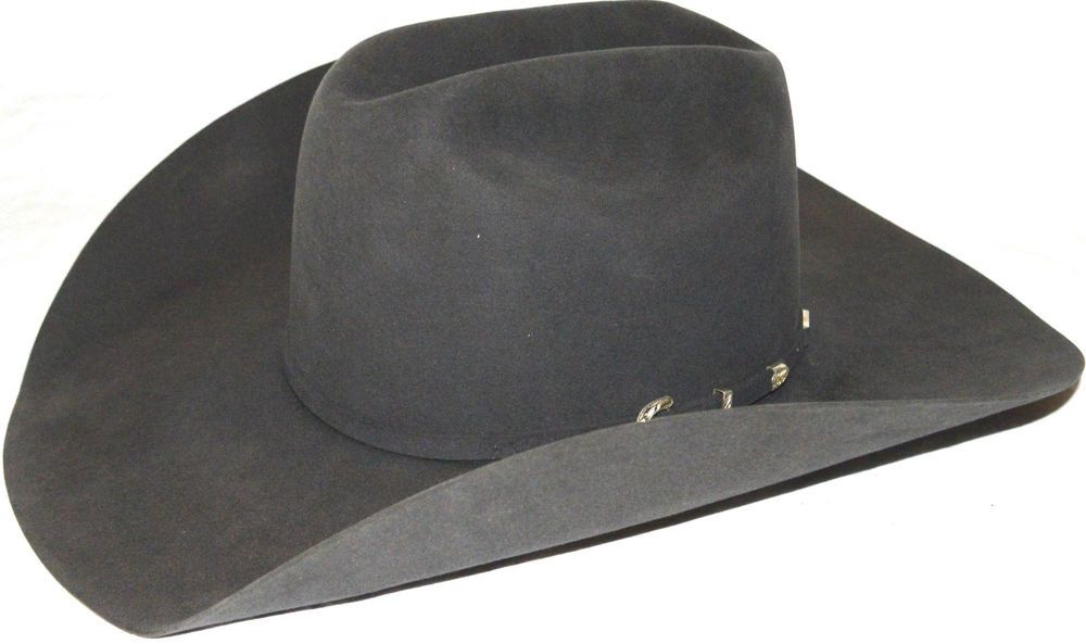 fe752e3496f New Creased American Hat Co Size 7 1 2 Lo 40x Steel  529 Cowboy Hat ...