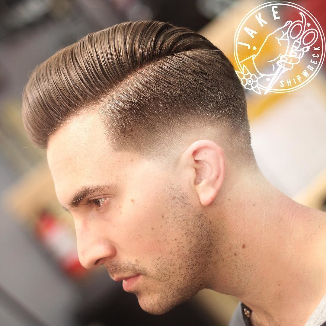 Slicked using swcs deluxe pomade barberlife barber barberfamily