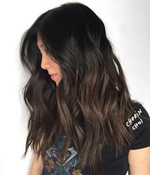 Hair By Choi Ce Black Hair Balayage Subtle Balayage Brunette Balayage Hair