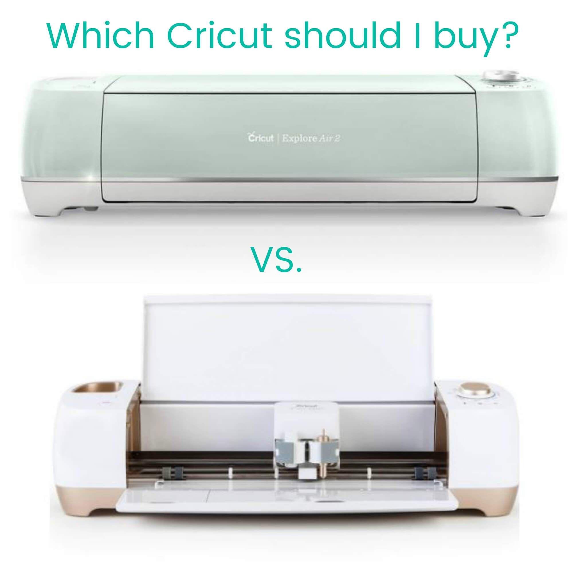 Cricut Maker vs Cricut Explore Air 2 Differences to know