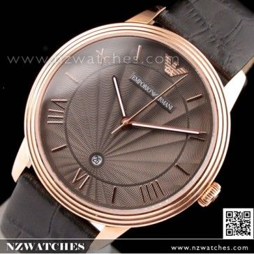 0f0e9fe42bb BUY Emporio Armani Quartz Classic Leather Strap Mens Watch AR1717 - Buy  Watches Online