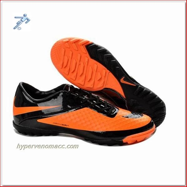 c33c0b6c4077 Soccer Shoes Price In India Nike Hyper Venom Phantom TF ACC Shoes Black  Citrus