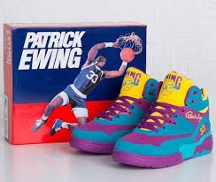 Patrick Ewing 33 Hi Sneakers GD Mens Shoes Blue Rose Red Yellow