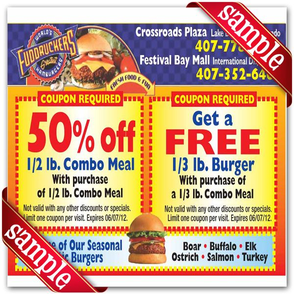 image relating to Fuddruckers Coupons Printable known as Fuddruckers Printable Coupon December 2016 Printable