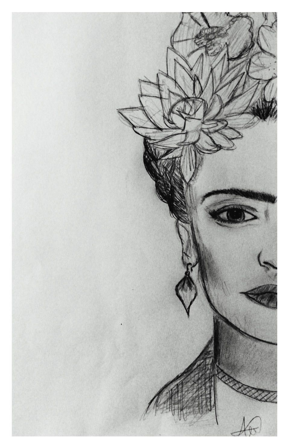 Frida Kahlo Frida Kahlo Frida Lapiz Y Papel