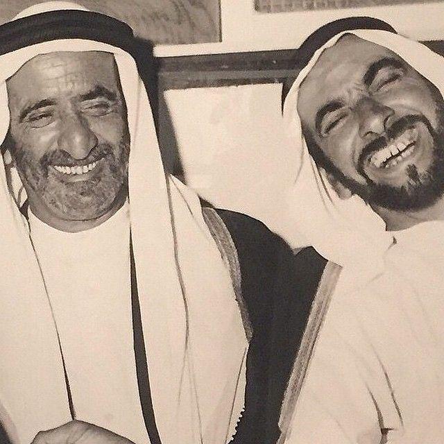El jeque Rashid bin Saeed bin Maktoum Al Maktoum y el jeque