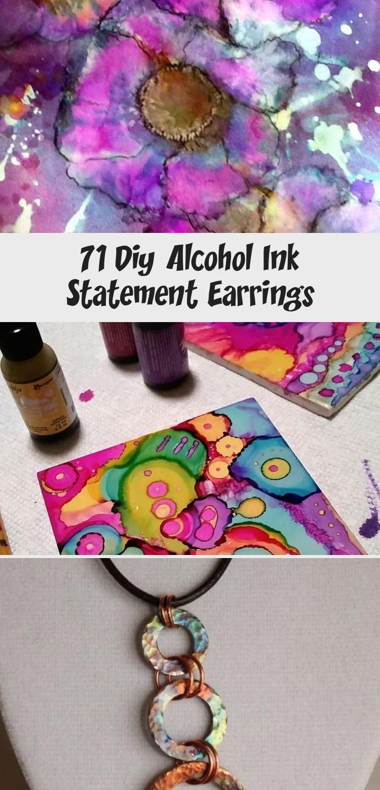 DIY Alcohol Ink Statement Earrings  Useful Information