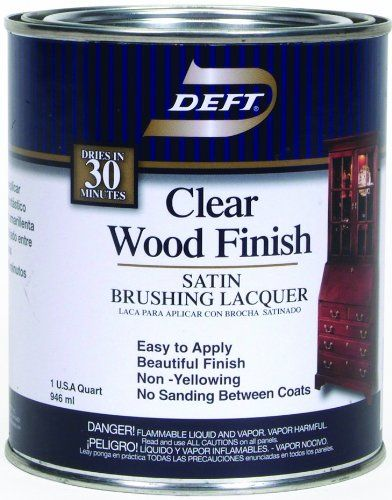 Clear Lacquer Spray For Wood