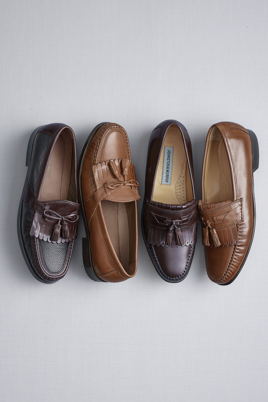 johnston murphy new balance slip on shoes