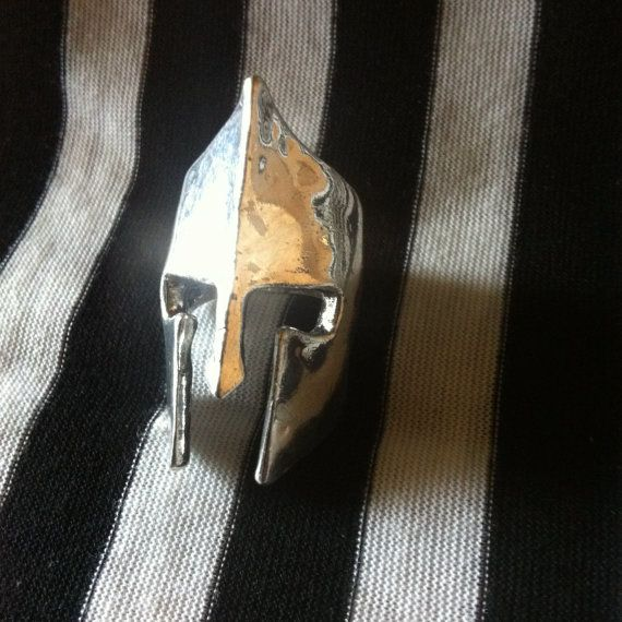 Silver Gladiator Ring Refurbished by allesa on Etsy, $20.00