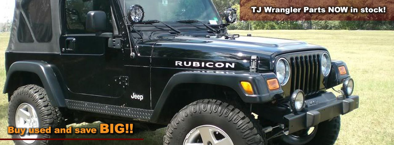 Used Jeep Wrangler Parts Now In Stock Check Us Out Buy Used And