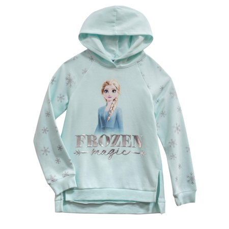 Disney Frozen Girls Long Sleeved Turquoise Top Anna Elsa 100/% Cotton 2-10Y