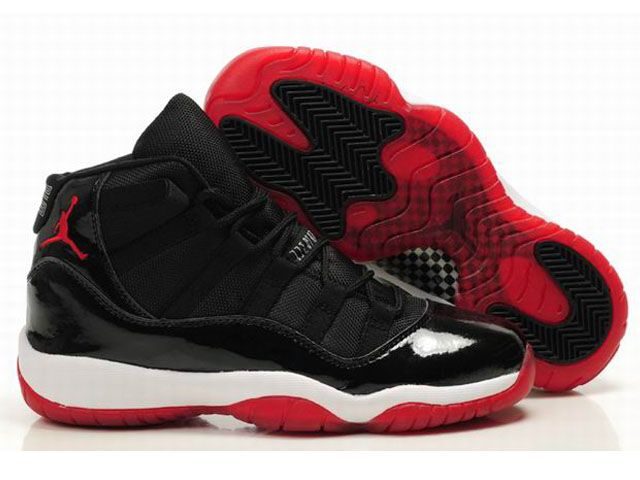 Nike Air Jordan 6 Women Shoes Black Red For Sale 90941e5d72