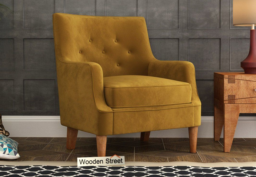 Get The Best Deal On Lounge Chair At Woodenstreet Loungechair Loungechaironline Loungechairs Woodenloungechair In 2020 Modern Sofa Chair Chair Single Sofa Chair