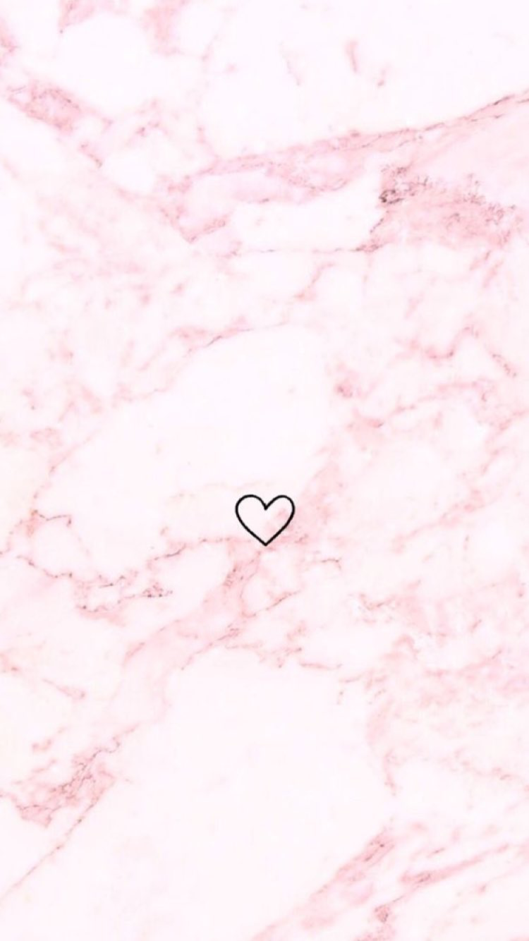 Pink Marble With Heart Pink Wallpaper Iphone Pink Marble