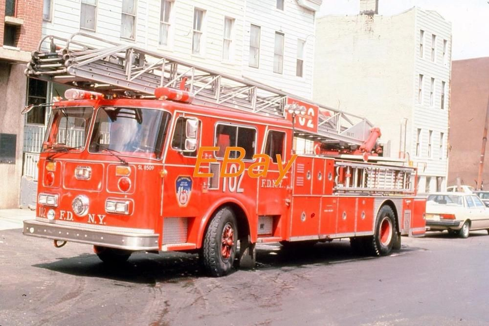 Details about Jackson OH 1972 Seagrave 100' RM Aerial Ex