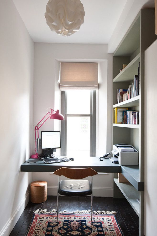 Students Furniture For Studying Hardwood Floor Carpet Modern Lamp - Chair table and lamp with built in book storage
