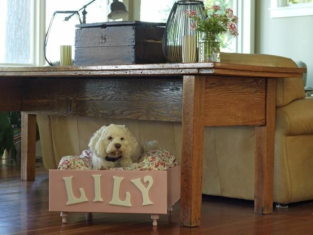 How To Make A Pet Bed Out Of An Old Drawer