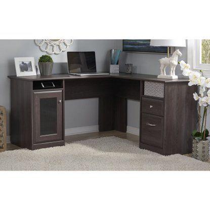 Bush L Shaped Desk With Hutch Target Office Furniture Desk