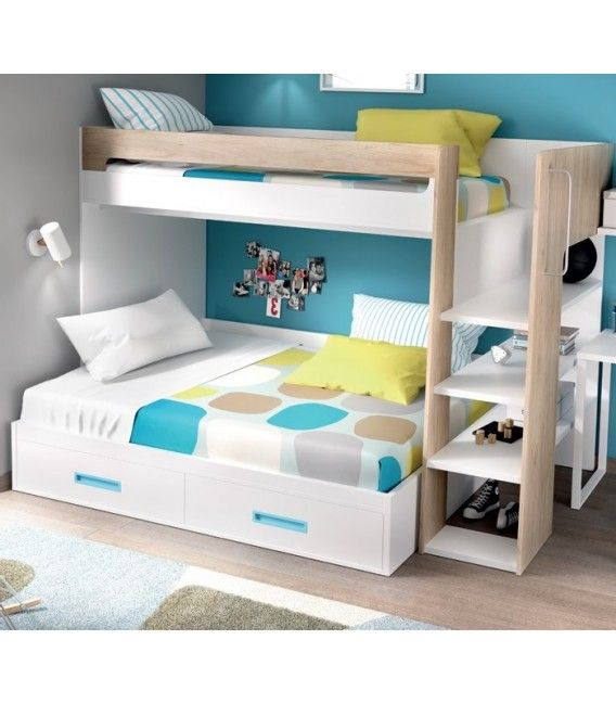 Litera Color Vintage Lliteres Matrimoni Pinterest Bunk Beds
