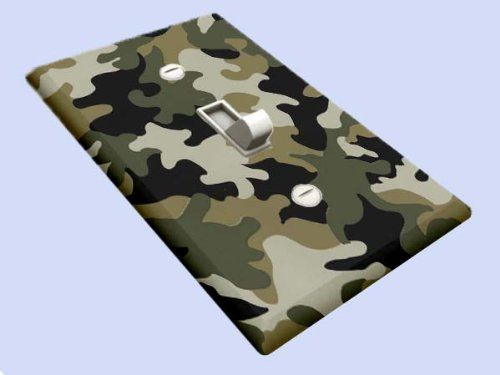 Jungle Army Camo Decorative Switchplate Cover Decoration Sensation. Camo  BathroomBathroom IdeasArmy ...