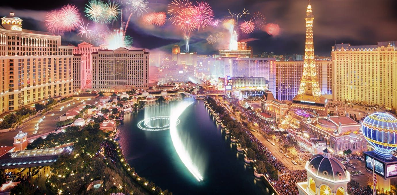 6 Of The Best Places To Celebrate New Year S Eve Across The Country Vegas New Years New Years Eve In Las Vegas Luxury Travel Destinations