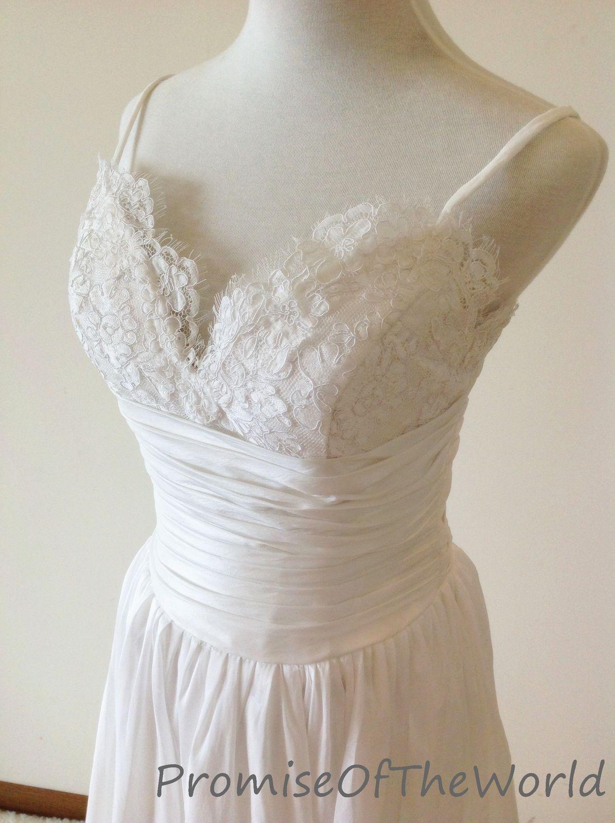 Lace strap wedding dress  Real photo spaghetti straps wedding dress Aline sweetheart taffeta