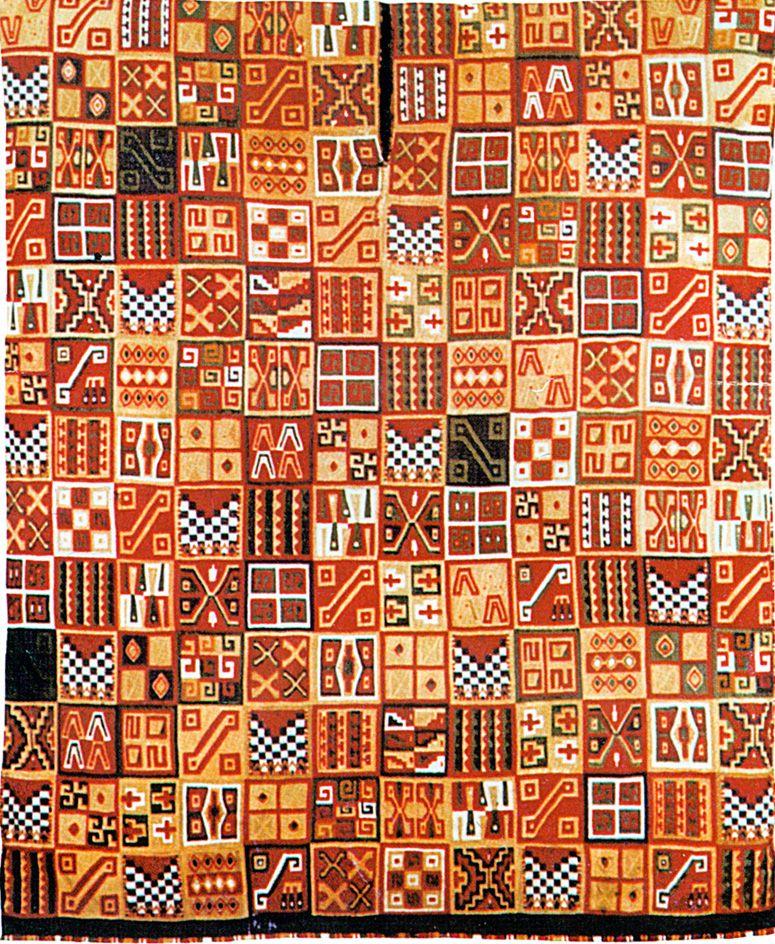Inca Textile Art Influence On Modern Cloth