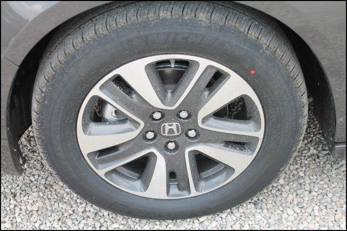 Charming 2000 Honda Odyssey Tire Size