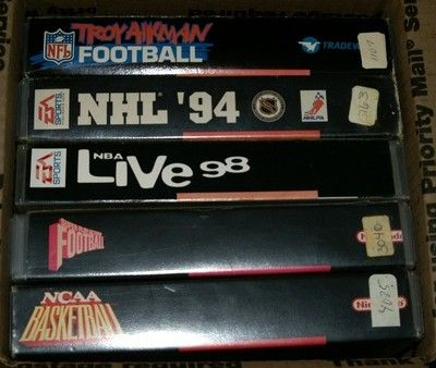 Lot of 5 Super Nintendo SNES Sports Games | eBay