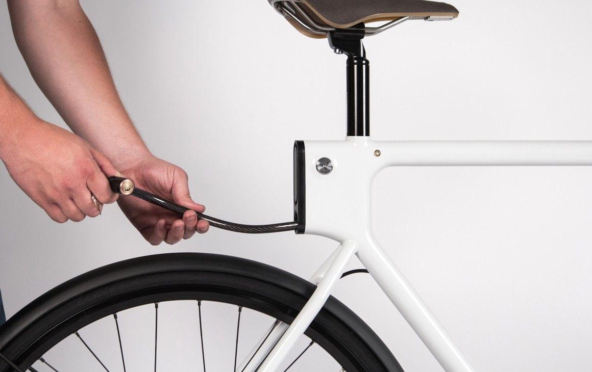 Sf Evo Cable Lock Stows In Seat Tube Bike Design Bike Style