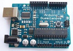 Arduino Duemilanove: my first Arduino board