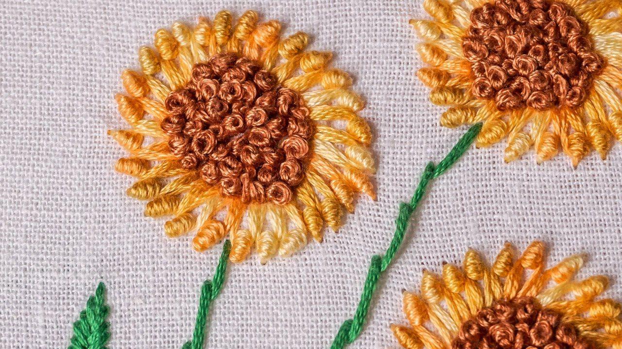 Hand embroidery designs new hand stitching patterns handiworks