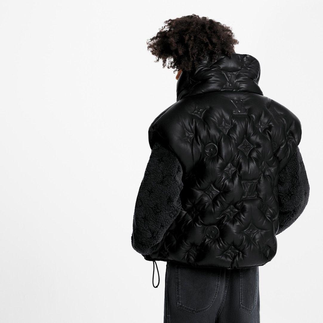 Monogram Boyhood Puffer Leather Gilet In Black Ready To Wear 1a5q4u Louis Vuitton Louis Vuitton Puffer Louis Vuitton Australia [ 1082 x 1082 Pixel ]