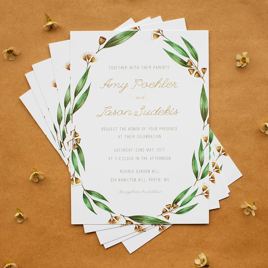 Give Me A Wedding Among The Gum Trees Thanks Stefanarifin For Submitting Your…: Thanks Wedding Invitation Ideas At Websimilar.org