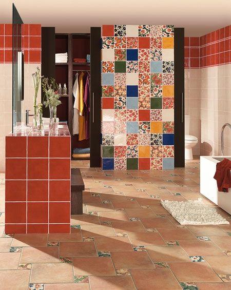 Colourful Decorative Wall Tiles | Bathroom | Pinterest | Decorative ...